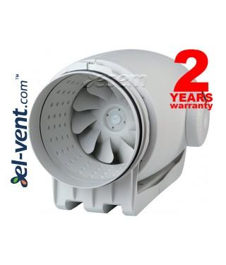 TD Silent ECOWATT ypatingai tylus kanalinis ventiliatorius su EC varikliu