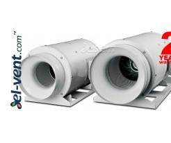 Quiet duct fan TD-1300/250 Silent, Ø250 mm