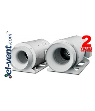 Ypatingai tylus kanalinis ventiliatorius TD-1300/250 Silent ECOWATT, Ø250 mm